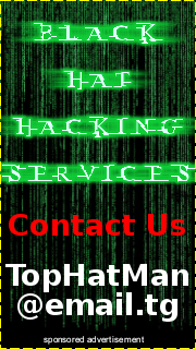 Black hat hackers for hire : pitaniesug ga