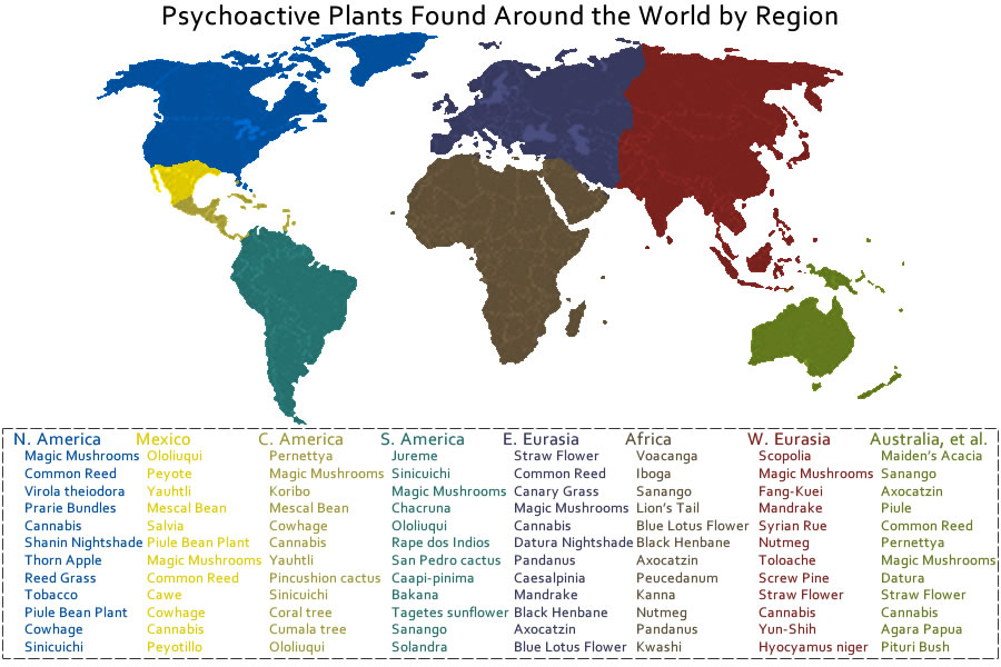 Are There Any Psychoactive Plants Near Me – Drugs and Bad Ideas
